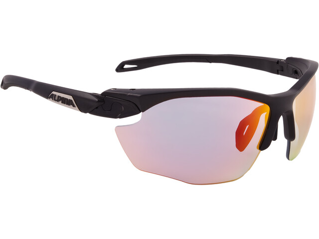 Alpina Twist Five HR QVM+ Lunettes, black matt